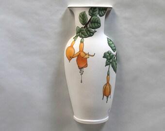 Fuchsia Wall Vase