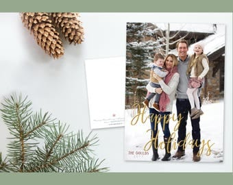 Christmas card, holiday card, custom, personalized photo card, Christmas photo card, greeting card