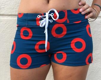Women's Phish / Fishman Board Shorts / Swim Trunks / You Enjoy My Shirt