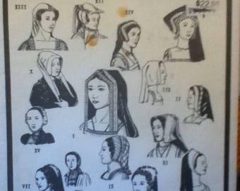Period Patterns Tudor-Era Headdresses Period Pattern 52