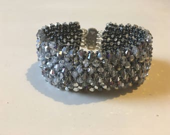 Silver Shade beaded bracelet