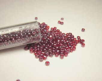 tube color (8-9 g) (R87) seed beads