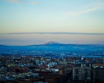 Granada at dusk
