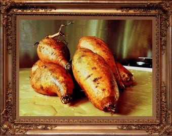 Art Print Kitchen Art Sweet-Potatoes Yams as Art
