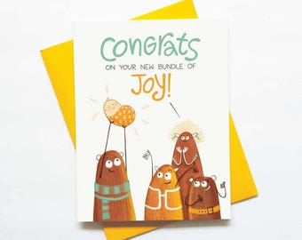 Cute New Baby Card