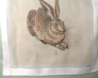 Kreier rabbit handkerchief / animal hankie