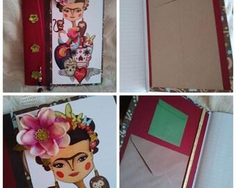 Journal Frida Kahlo Blank Handmade One of a Kind