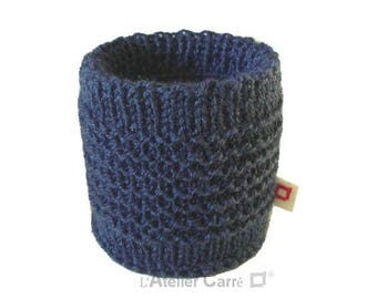 Sock Tin 1/2 medium indigo blue