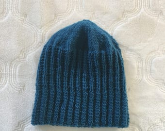 Toddler knitted beanie, toddler wool beanie, toddler beanie, baby beanie, baby knit hat, toddler knit hat, wool baby beanie, girl knit hat