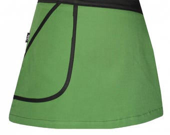 Overskirt chilia cotton Green