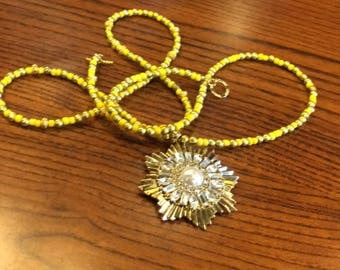 a necklace inspired  by Marie  de Guise