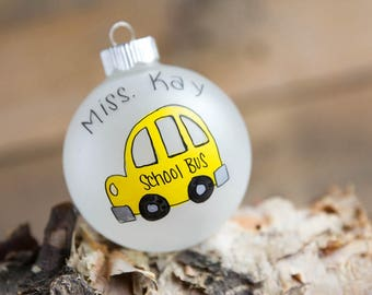 Bus Driver Profession - Christmas Ornament - Personalized for Free
