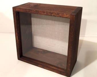 DEEP Shadow Box - 12x12 Shadow Box Frame 3 inches Deep Rustic Wood & Shadow box | Etsy Aboutintivar.Com