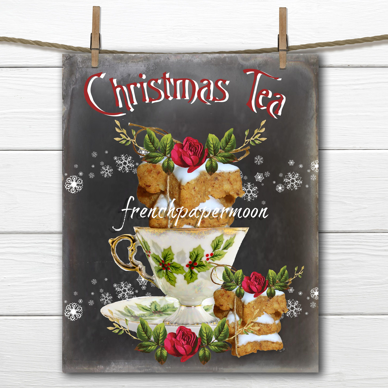 Chalkboard christmas tea digital download christmas teacup chalkboard christmas tea digital download christmas teacup gingerbread cookies christmas pillows crafts jeuxipadfo Image collections