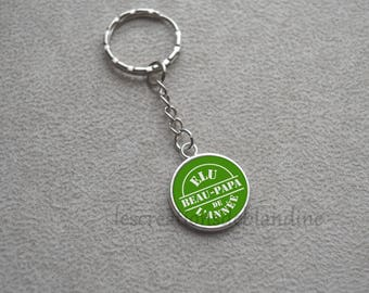 Special dad key ring