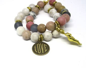 NEW! The Goddess & Her Warrior Collection 2017/18 - Knight of Cups and Goddess of Love Stacked Bracelet