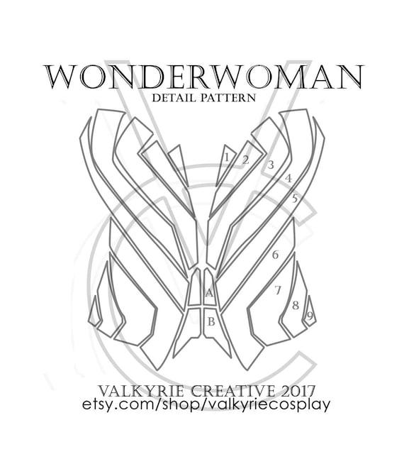 Wonderwoman corset detail printable pattern wonderwoman corset detail printable pattern pronofoot35fo Gallery
