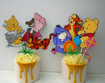 Baby Winnie the Pooh centerpieces WITHOUT CONTAINER, Baby Winnie the Pooh