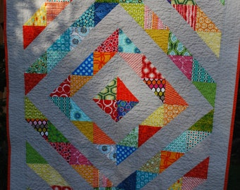 Multi-colored Baby Quilt