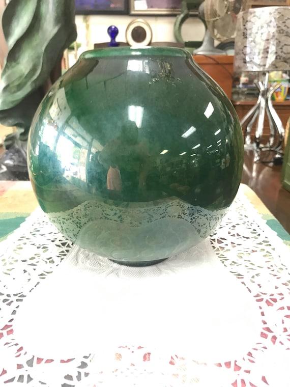 George Smith vase signed