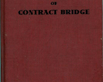 "1954 Book, ""Culbertson's New And Complete Summary Of Contract Bridge"""