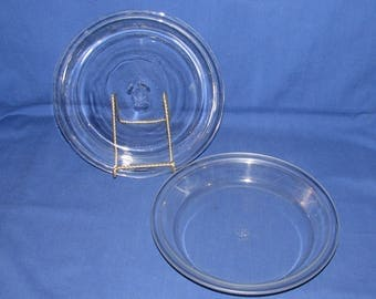 Pyrex 209 Set of 2 PIE PLATES