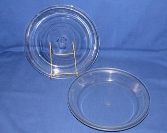Pyrex 209 Set of 2 PIE PLATES