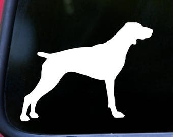 "GERMAN SHORTHAIRED POINTER 5"" x 3.75"" Vinyl Decal Sticker - Dog gsp *Free Shipping*"