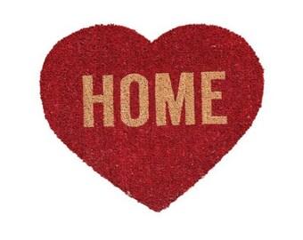 Heart Shaped Home Doormat