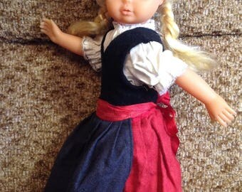 The doll a vintage of GDR