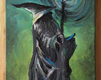The Grey Wizard painting.