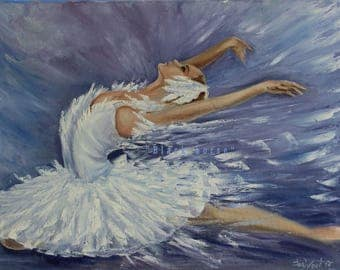 Ballerina Pictures/Digital Art/Printable Art/Swan/Ballet Pictures/