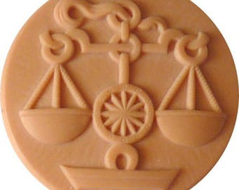 Cabochon Libra zodiac sign blank for jewelry pendants, brooches