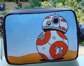 BB-8 Inspired Hand Painted Handbag