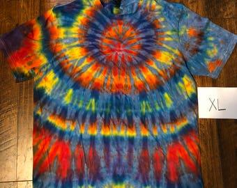 X large tie-dye tee #225