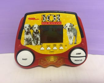 101 Dalmatians Game, Handheld Game, Tiger Electronics, 1990s Disney, Games for in the Car, 1997 Tiger Game, Dalmatians Toy, Vintage Games