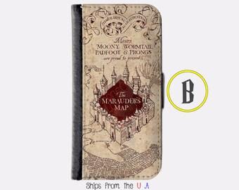 iPhone 6S Plus Case - iPhone 6S Plus Wallet Case - iphone 6S Plus - iPhone 6S Plus Wallet - Harry Potter iphone 6S Plus case B