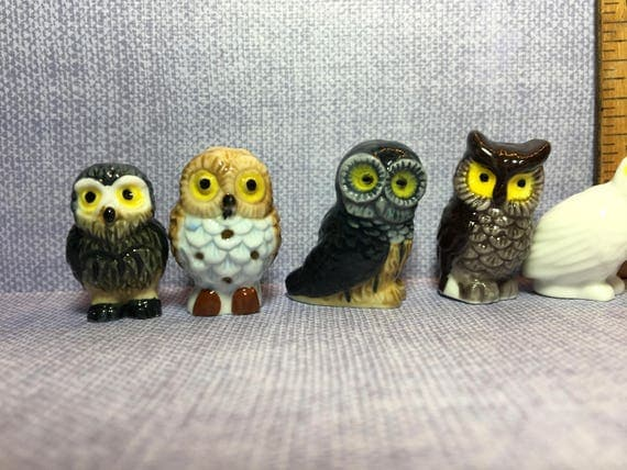 French Knitting Owl Doll : Tiny owls owl wise old barn forest woods birds bird