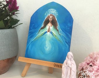 Original Painting 'Mother Mary (Waters of Life)'