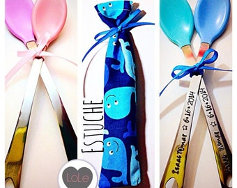 SALE Personalized Baby Spoon