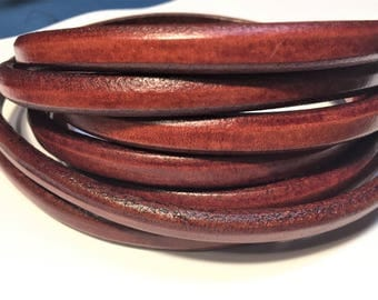 "Per 8"" Regaliz Brand Whiskey Licorice Leather, leather finding, jewelry supplies, high quality,"