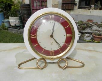 French Vintage Jaz alarm clock 1950's