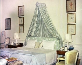 Jackie Kennedy , White House Bedroom of First Lady Jacqueline Kennedy # 2