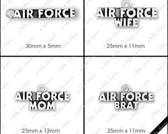 B-01-01 Word Charms, Military, Air Force