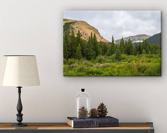 Colorado Photography Canvas - Canvas Wall Decor - Living Room Wall Decor - Colorado Wall Art - Nature Photography - Mountain Wall Art