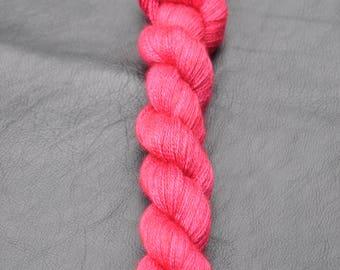 Aurora 2 ply lace - Raspberry