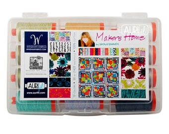 AURIFIL Set of 12 MAKO 50 Wt Natalie Barnes Makers Home Collection Quilting Thread