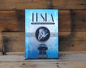 Book Safe - Tesla The Wizard of Electricity - Blue Hollow Book Safe