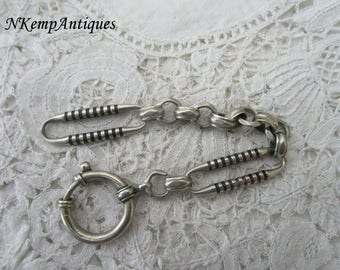 Antique chain component