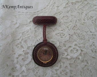 1930's brooch watch for the collector